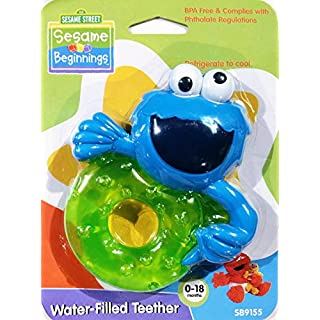 Sesame Street - Elmo Water-Filled Teether - 0-18 months