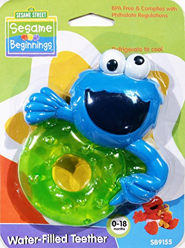 Sesame Street Water Filled Teether months