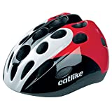 CATLIKE Kitten Tricolor SV Bike Helmet, Red, Small Review
