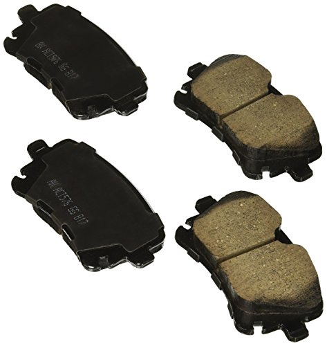Akebono EUR1018 Rear Brake Pad (Best Brake Pads For Audi A4)