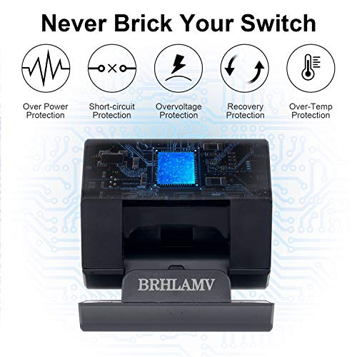 Nintendo Switch Dock, BRHLAMV Portable Replacement for Nintendo TV Dock Station with HDMI, USB 3.0, 2USB 2.0 and Charging Ports