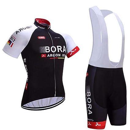 e0ecf0e92526 logas Completo Ciclismo Uomo Estivo Maglia Ciclismo Maniche Corte Squadra  Professionale: Amazon.it: Sport e tempo libero