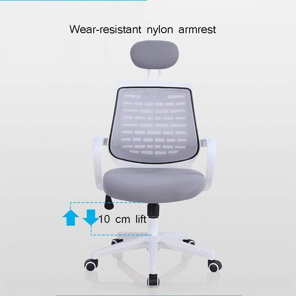 Xiuyun kontorsstol spelstol, ergonomisk höjd justerbar verkställande skrivbordsstolar, 360 ° vridbar stol med räcke 28 ° rygg, (färg: Stil2) Stil1