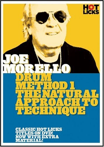 DVD : Joe Morello - Natural Approach to Technique (DVD)