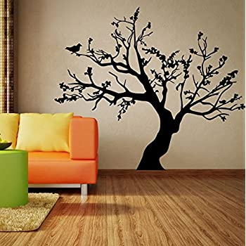 Cute Product Big Tree Living Room Bedroom Decoration Stickers Murals  Removable Pvc Wall Sticker Mural Art Home Room Decoration for Bedroom  Bathroom Living ...