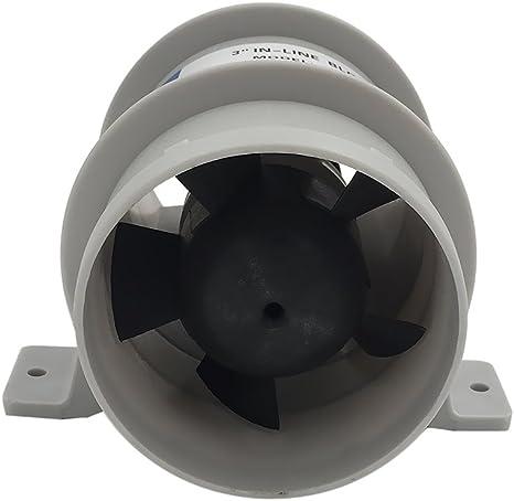 Ventilador Marino de 12v Resistente al Agua Flujo de Aire Alto - 3 ...