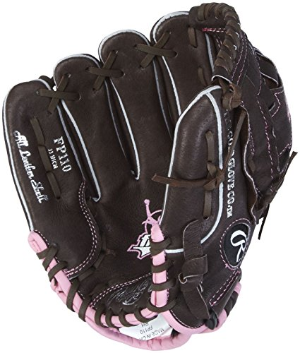 Rawlings Fastpitch Series 11-inch Infield Fastpitch Glove, Left-Hand Throw (FP110)