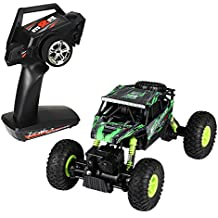 CLEAR OUT SALE NEXGADGET RC Car Rock Crawler 1/18 4WD Ready to Run RC Truck Off Road Good at Climbing Remote Control RC Vehicle- Easy to Operate 2.4G Transmitter RC Truck Rock Racer