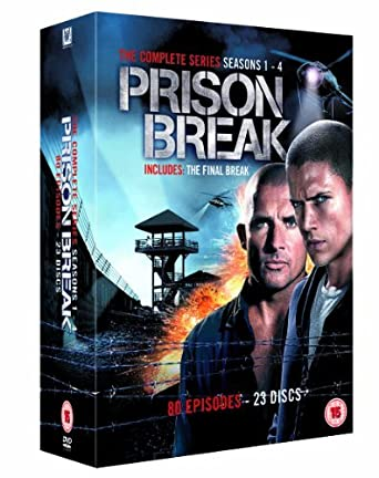 Amazon Com Prison Break Complete Seasons 1 4 23 Dvd Box Set Prison Break Seasons One Two Three Four 80 Episodes Non Usa Format Pal Reg 2 Import United Kingdom