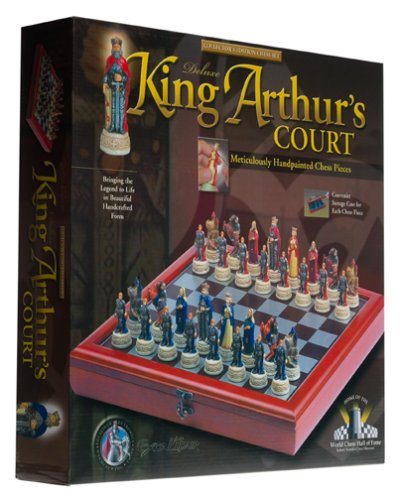 King Arthur's Court Deluxe Chess Set (Deluxe Electronic Chess)