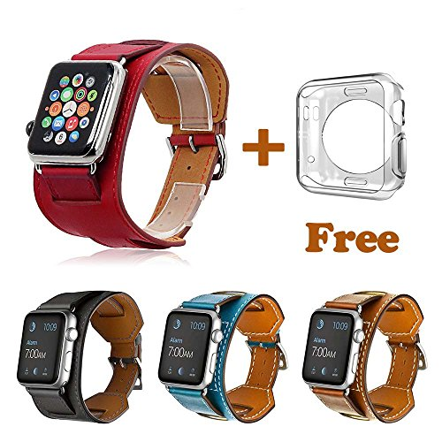 Leather Bracelet Watchband Flexible Protective product image