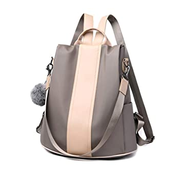 d2da0826016 Aiseyi Women Backpack Purse Waterproof Nylon Bags Anti-Theft Rucksack  Shoulder Bags