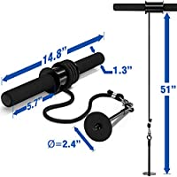 Yes4All Wrist and Forearm Blaster – Wrist Roller & Forearm Roller for Training, Workout – Wrist / Arm Blaster – Fit Standard 1-inch Weight Plates from Yes4All