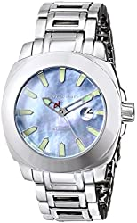 ANDROID Men's AD658ABU Parma Analog Japanese-Automatic Silver Watch