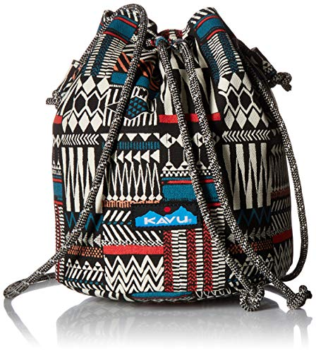 KAVU Women's Bucket Bag, Pattern Stack, No Size