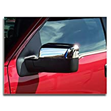 MaxMate 04-08 Ford F150 (Not for Heritage) Chrome Top Half Mirror Cover