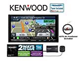 Kenwood Excelon DNX893S Navigation System with SiriusXM SXV300v1 Satellite Radio and FREE SOT Air Freshener