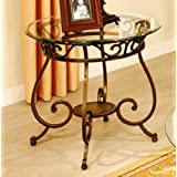 Poundex F6022 End Table 25x25x25H