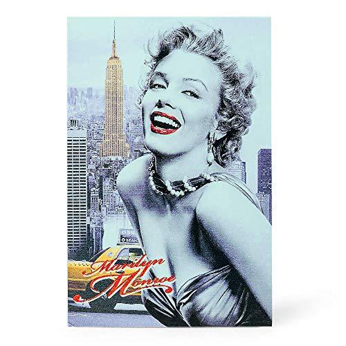 Diversion Book Safe, Dictionary Secret Cash Safe Box with Combination Lock, Diversion Book Hidden Safe (Marilyn Monroe Style-Code, M)