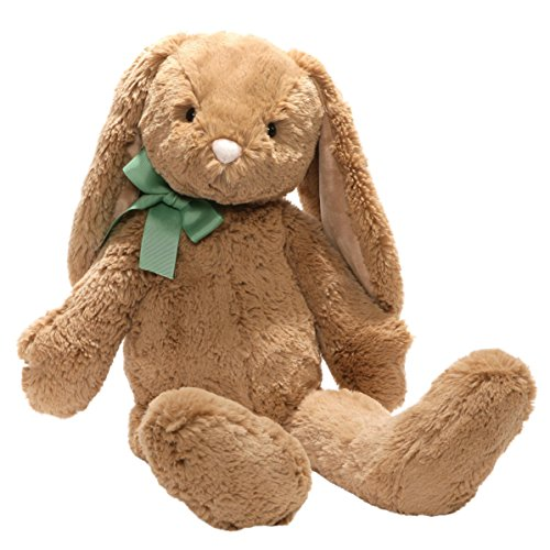 "GUND Easter Evan Bunny Plush Stuffed Animal, Caramel Brown, 14"""