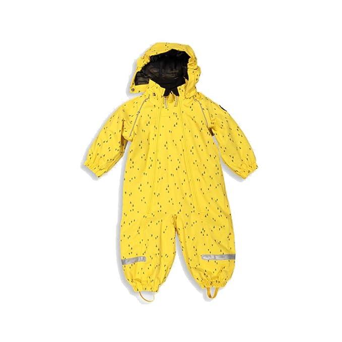Amazon.com: Polarn O. Pyret traje impermeable de Shell con ...