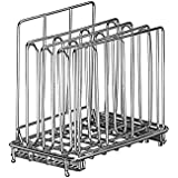 LIPAVI Sous Vide Rack - Model L5 - Marine Quality 316L Stainless Steel - Square 4 x 6.4 Inch - Adjustable, Collapsible, Ensures even and Quick warming - Fits LIPAVI C5 Container