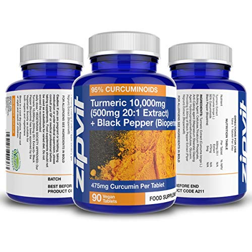 Turmeric-Curcumin-10000mg-and-BioPerine-Black-Pepper-475mg-Curcumin-95-Curcuminoids-90-Vegan-Tablets-3-Months-Supply-Vegetarian-Society-Approved