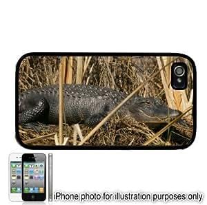 Alligator Gator Photo Apple iPhone 4 4S Case Cover Black