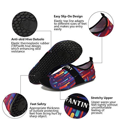CIOR Männer Frauen und Kinder Quick-Dry Wasserschuhe Leichte Aqua Socken Für Beach Pool Surf Yoga Übung Farbe