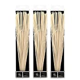 Hosley Set of 3-12.5'' High Botanical Diffuser Reeds. Used as a Decorative Centerpiece in Your Living/Dining Room; Ideal Gift for Wedding, Special Events, Aromatherapy, Spa, Reiki, Meditation. O7