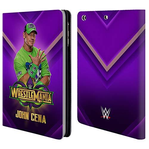 Superstar Cena John - Official WWE John Cena Wrestlemania 34 Superstars Leather Book Wallet Case Cover for iPad Mini 1 / Mini 2 / Mini 3