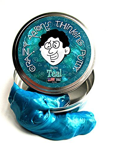 Crazy Aaron's Thinking Putty Electric Teal