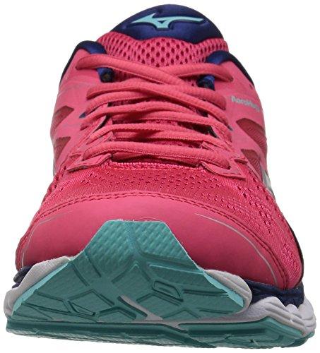 Shoe 2 Depths Blue Mizuno Teaberry Wave Women's Sky Running SqHX7