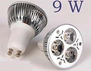 Bombilla led 9w gu10 220v hal geno led bajo - Halogenos led bajo consumo ...