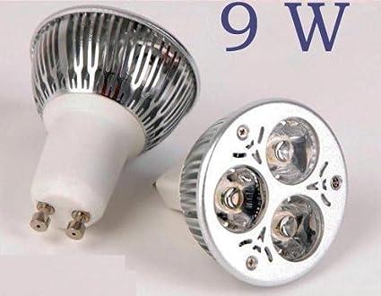 Bombilla LED 9W GU10 220v - Halógeno Led Bajo Consumo
