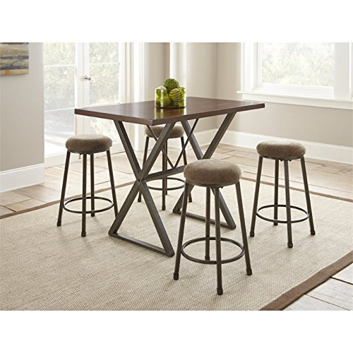 Steve Silver Omaha 27' Counter Stool (Set of 2)