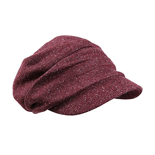 Beret/Warm winter Hat fashion commute-Red adjustable