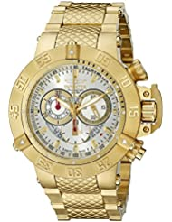 Invicta Mens 5406 Subaqua Noma III Collection Gold-Tone Chronograph Watch
