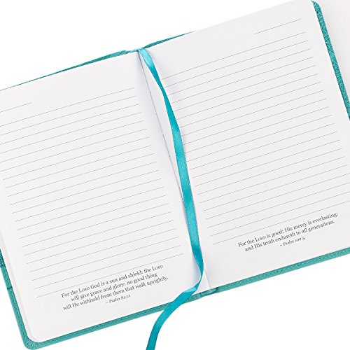 """Turquoise """"Everlasting Love"""" Flexcover Journal – Jeremiah 31:3"""