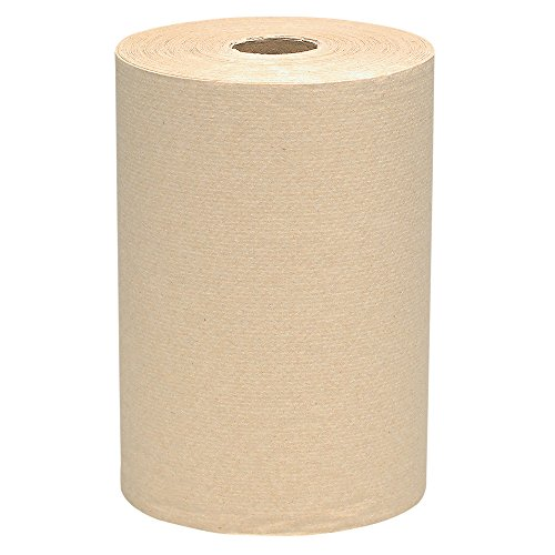 "Scott Essential Hard Roll Paper Towels (32848), 1-Ply, Natural, 2.0"" Core, 800' / Roll, 6 Rolls/Case, 4,800' / ()"