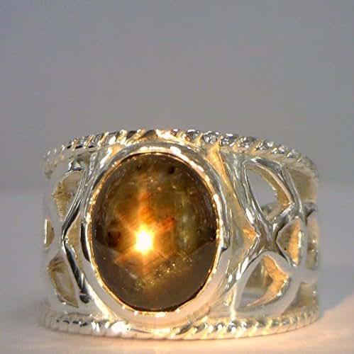 Amazon com: Thai Black Star Sapphire Handmade 925 Silver