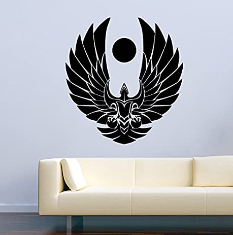 Movie Film Wall Decals Star Trek Romulan Republic Starships Logo Stickers Vinyl Murals Decors MK1901 & Amazon.com: Movie Film Wall Decals Star Trek Romulan Republic ...