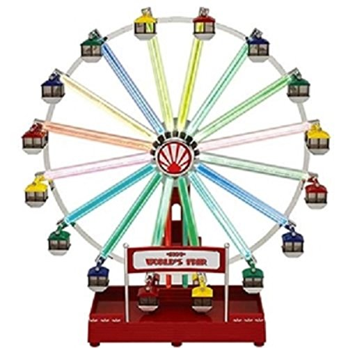 Mr. Christmas Animated Musical LED 1939 World's Fair Ferris Wheel Decoration (Christmas Ferris Wheel)