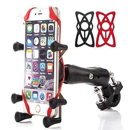 Soporte de Manillar para Motocicleta Soporte para teléfono móvil ...