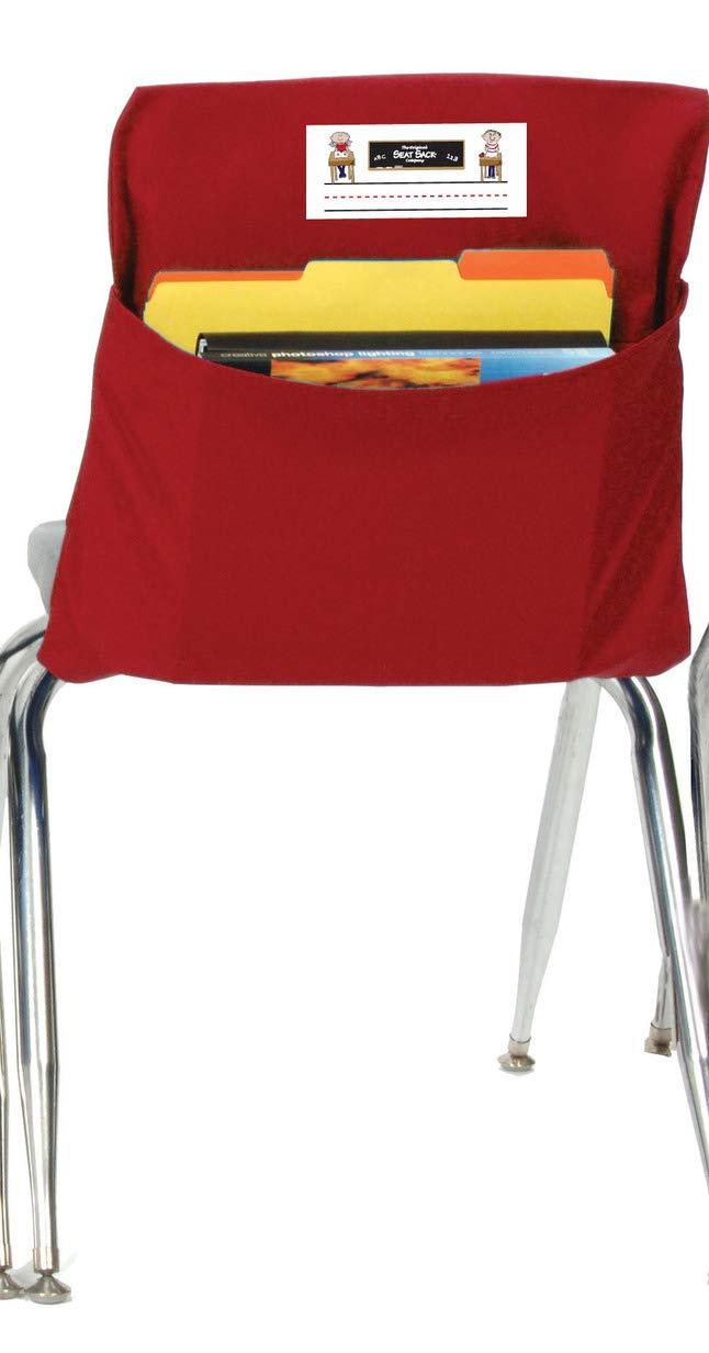 Seat Sack Storage Pocket, Medium, 15 Inches, Red