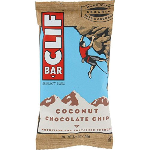Clif Bar Organic Coconut Chocolate Chip - Case of 12 - 2....