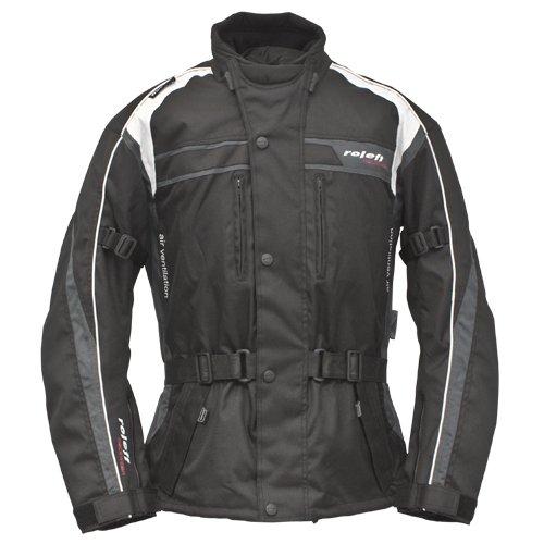 Roleff Racewear Macao Chaqueta de Motorista de Tela, Negro ...