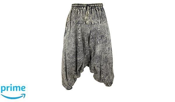 Pantalones Aladino Pantalones Estilo Ninja Haren Little Kathmandu Genio Pantalones De Algodon Ligero Para Hombres Negro Negro S Ropa Aceautocare Net