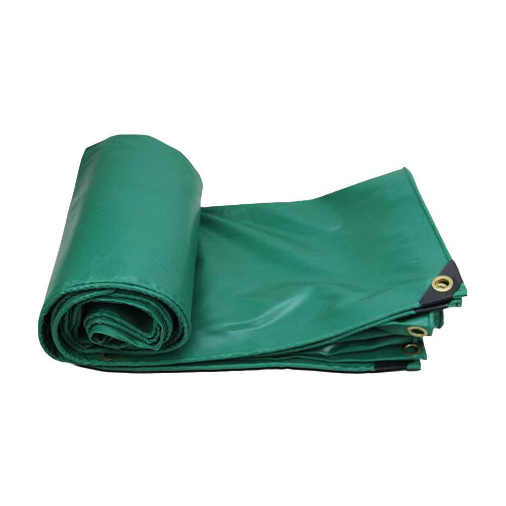 DALL ターポリン タープ レインクロス 防水 日焼け止め サンシェード レインカバー 抗酸化 (色 : 緑, サイズ さいず : 3×4m) 3×4m 緑 B07KY7YS9C