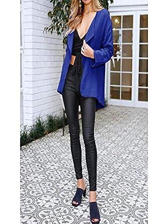 ❤ Abrigo Corto de Invierno para Mujer, Womens Casual Solid Open Cape Coat Suelta Manga Larga Kimono Chaqueta Cardigan Tops Absolute: Amazon.es: Ropa y ...